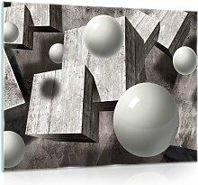 Glasbild 3D Brayden Studio Format: 60 cm H x 80 cm