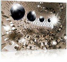 Glasbild 3D Puzzle Tunnel Brayden Studio