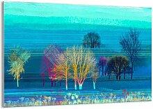 Glasbild Ausgelöschte Landschaft
