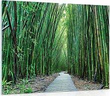 Glasbild Bambus Sansibar Home