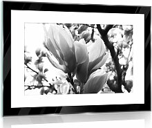 Glasbild Blumen 17 Stories