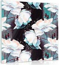 Glasbild Blumen Brayden Studio