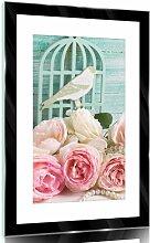 Glasbild Blumen Lily Manor