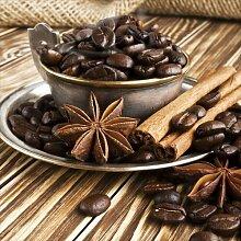 Glasbild Coffee Beans East Urban Home