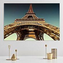 Glasbild Eiffelturm, Fotodruck