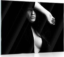 Glasbild Frau Brayden Studio