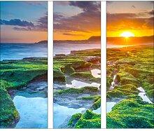 GlasbildGreen & Orange Horizon World Menagerie