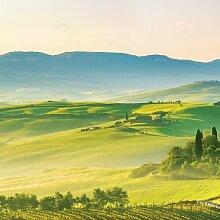 Glasbild Landschaft Toskana - Natur 17 Stories