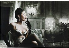 Glasbild Lingerie Lady KARE Design
