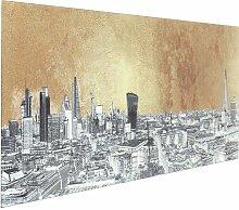 Glasbild Metallic London KARE Design