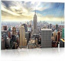 Glasbild New York Brayden Studio Format: 40 cm x