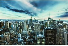 Glasbild New York Sunset KARE Design