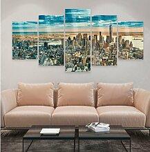 Glasbild New York Traumstadt Ebern Designs