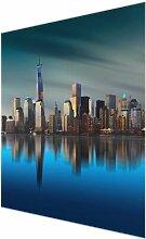 Glasbild New York World Trade Center East Urban