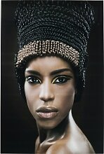 Glasbild Royal Headdress KARE Design