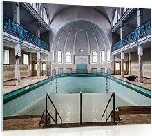 Glasbild Schwimmbecken Brayden Studio