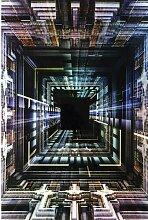 Glasbild Science Fiction KARE Design