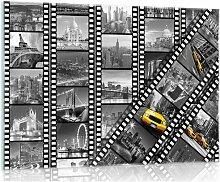Glasbild Stadt 17 Stories Größe: 20 cm H x 30 cm
