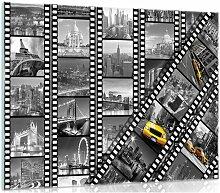 Glasbild Stadt 17 Stories Größe: 60 cm H x 80 cm