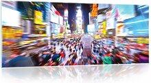 Glasbild Stadt Brayden Studio Größe: 60,5 cm H x
