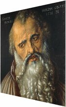 Glasbild The Apostle Philippus von Albrecht Dürer