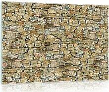 Glasbild Wand Alpen Home