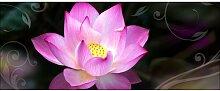 Glasbild Water Lily, Kunstdruck East Urban Home