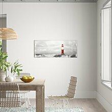 Glasbild Waterfront, Kunstdruck East Urban Home