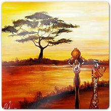 Glasbilder - Glasbild Fedrau - Afrika