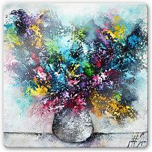 Glasbilder - Glasbild Fedrau - Lass Blumen