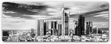 Glasbilder - Glasbild Frankfurter Skyline -