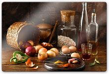 Glasbilder - Glasbild Laercio - Ungarische Küche
