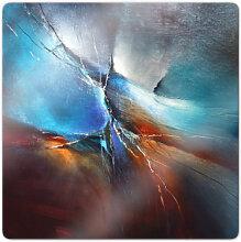 Glasbilder - Glasbild Schmucker - Frühling im Eistobel