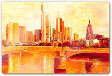 Glasbilder - Glasbild Schüßler - Skyline