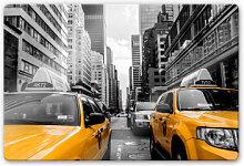 Glasbilder - Glasbild Streets in New York City