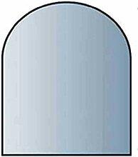 Glasbodenplatte 8 mm Stärke, 80 x 80 cm, Halbrund