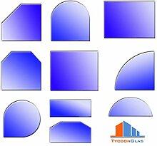 Glasbodenplatten für Kaminöfen verschiedene