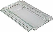 Glasdachziegel Lambert Massives Echtglas 28,2x48,6cm