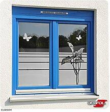 Glasdekor Fensterfolie Dekorfolie Lilie Calla mit
