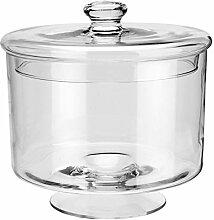 Glasdose mit Deckel Puebla, 24.5x25.0cm (DxH),