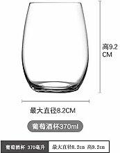 Glaseres Doppelwandige Kristallglas Rotwein Tasse
