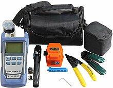 Glasfaser FTTH-Tool-Kit mit Faser-Spalter und