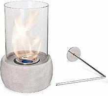 Glasfeuer Stone Tischkamin Feuerstelle Kamin