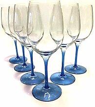 GlasGo Design Weinglas, 6er Set Gläser Rotwein,