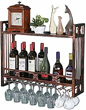 Glashalter für Weinregale zur