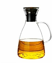Glaskaraffe 1500ml (Volle Kapazität) Glaskrug aus
