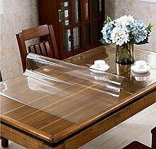 Glasklar Folie PVC Tischabdeckung Tischfolie