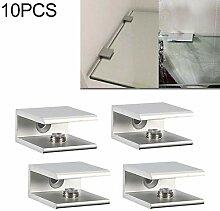 Glasklemmen Glashalterung 10 PCS-einzelne
