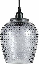 Glaslampe Glocke Hängeleuchte Lampe Hängelampe