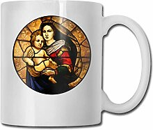 Glasmalerei Mary Jesus Fashion Kaffeetasse